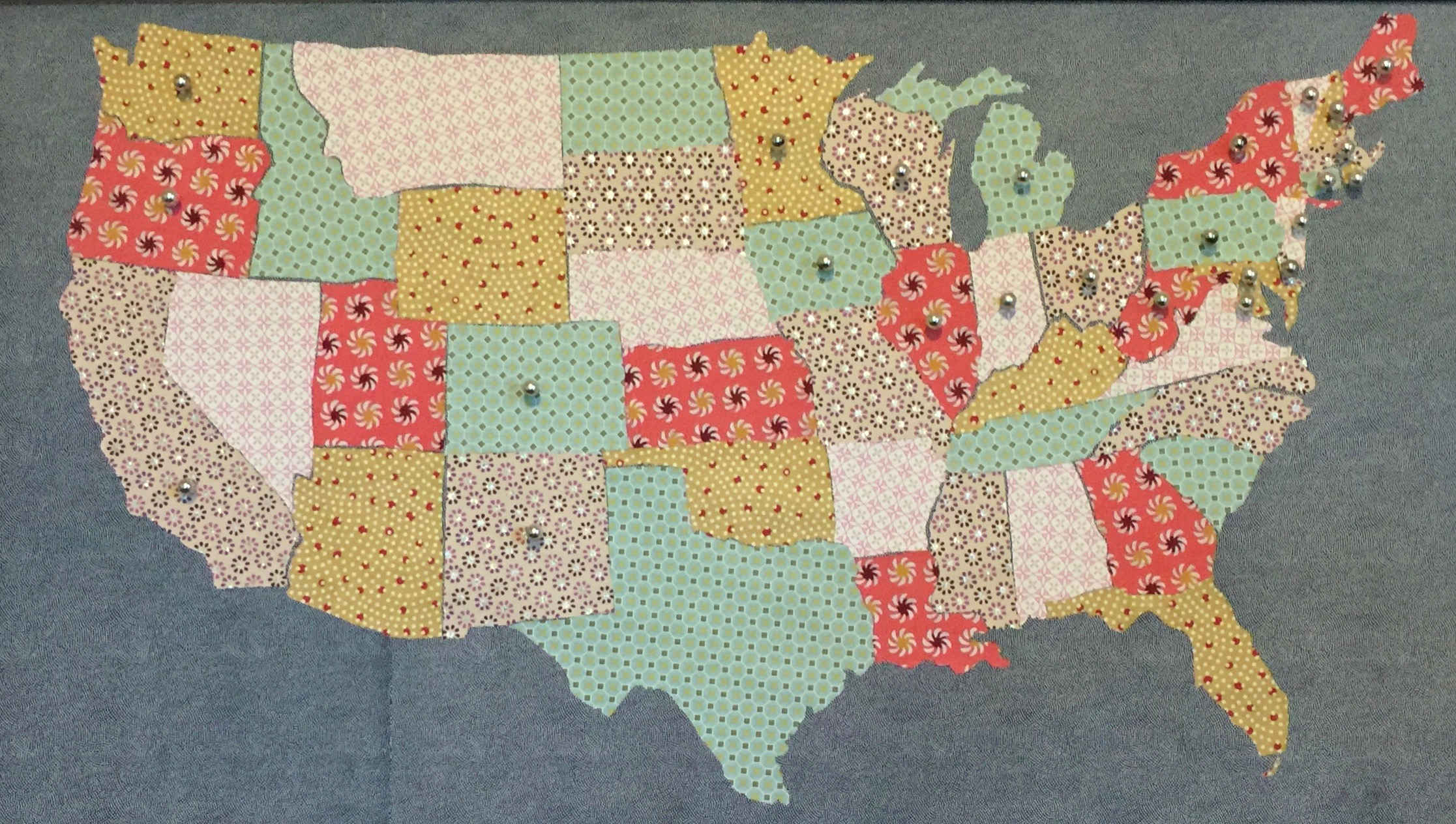 Crafty Project: Mapping the U.S.