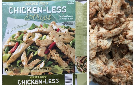 Vegan Food Review: TJ's Chicken-Less Strips